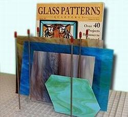 Glas Rack 8