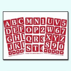 ONO Alphabet One Inch, 3 pak