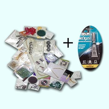 Jewellery accessories kit. 25 items