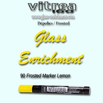 VIT 160 frosted marker lemon