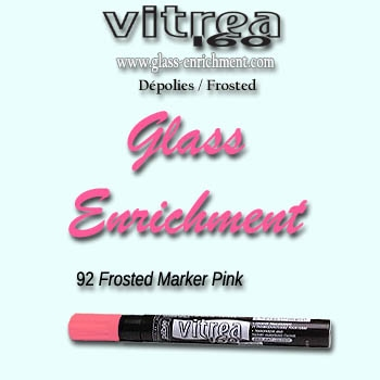 VIT 160 frosted marker pink