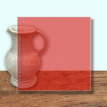 Glass Art Film, Orange   46 cm x 33 cm