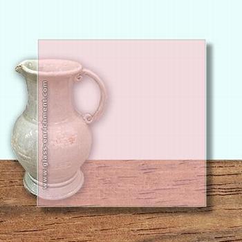 Glass Art Film, Light Pink  46 cm x 33 cm
