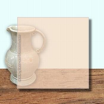 Glass Art Film, Sand  46 cm x 33 cm