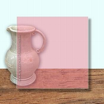 Glass Art Film, Blossom Pink  46 cm x 33 cm