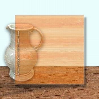 Glass Art Film, Dark Orange Grain  46 cm x 33 cm
