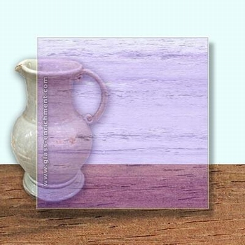 Glass Art Film, Light Purple Clear Grain  46 cm x 33 cm