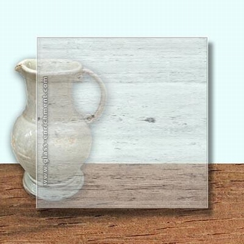 Glass Art Film, Light Grey Clear Grain  46 cm x 33 cm