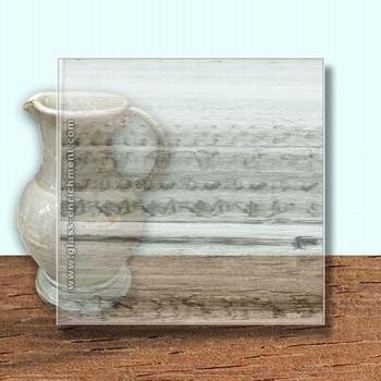 Glass Art Film, Black Clear Grain  46 cm x 33 cm