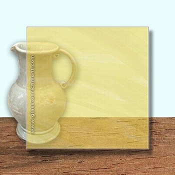 Glass Art Film, Antique Yellow  46 cm x 33 cm