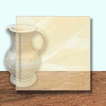 Glass Art Film, Soft Cream Wisp  46 cm x 33 cm