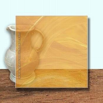 Glass Art Film, Marigold Wisp  46 cm x 33 cm