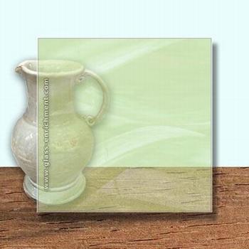 Glass Art Film, Pistachio  46 cm x 33 cm