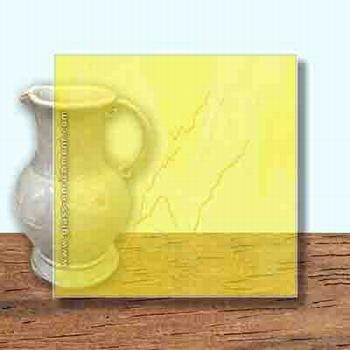 Glass Art Film, Sun Yellow  46 cm x 33 cm