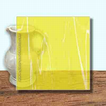 Glass Art Film, Canary Yellow Marble  46 cm x 33 cm