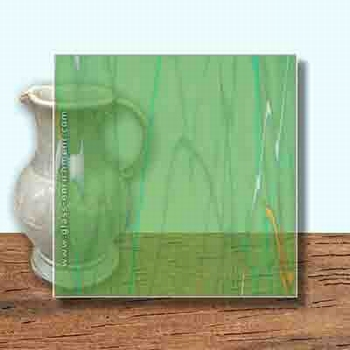Glass Art Film, Green Pepper Marble  46 cm x 33 cm