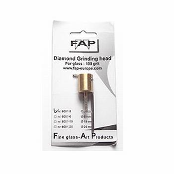 FAP diamond grinding head - 3 mm/100 grit