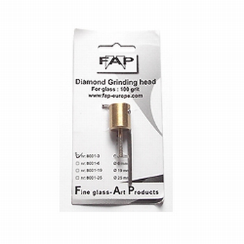 FAP diamond grinding head 3 mm 220 grit