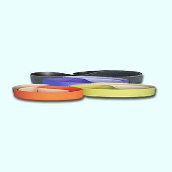 SDA Diamond polishing belt SD, grain 200, red