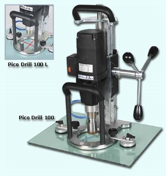Pico Drill 100 Mobile Glass drill with Cross laser