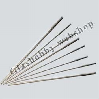 Stainless steel mandrel 4 mm thick, 250 mm long per 5 pieces