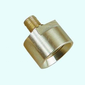 Adapter van spoelkop naar industriele glasboren