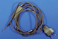 Cord, 2 mtr with plug and switch