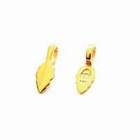 Aanraku 18k gold-plated jewelry bails