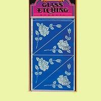Etching pattern corners 4