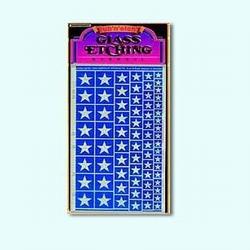 Etching pattern Stars