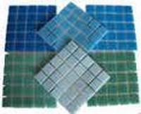 Mozaiek 2 x 2 cm plak van 25 stuks