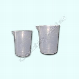Mengbeker, PP (Polypropyleen), 400 ml