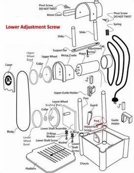 Lower Adjustment Screw
