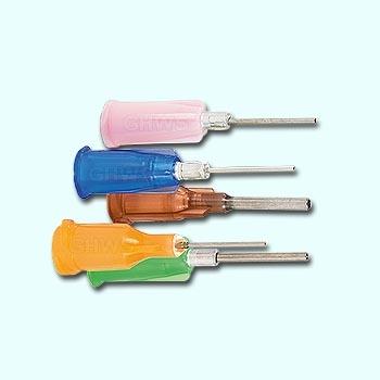 UV doseernaald Amber 1,37 mm voor lijm 682T