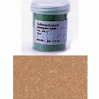 Enamel powder opaque oak brown