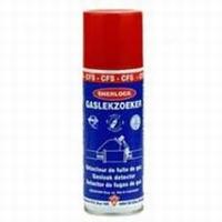 Gas leak spray