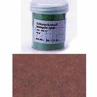 Enamel powder opaque dark brown