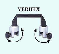VERIFIX Clamping Device for 6 - 19 mm glass