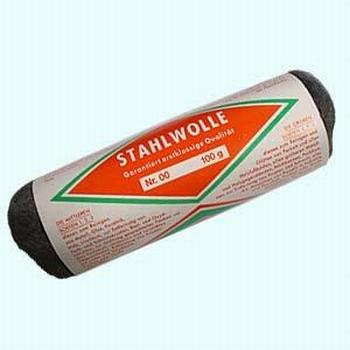 Stahlwolle, nr 00  100 gram