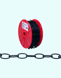 Course Chain black  Per meter