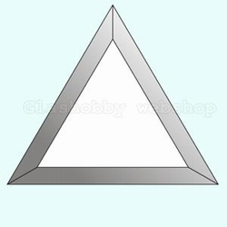 Bevel Triangle 102 x 102 x 102 mm