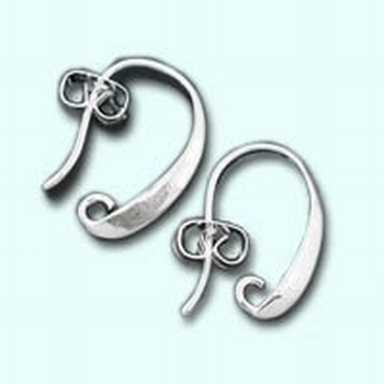 Crochet boucle d'oreille, 1 pair