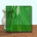Glass Art Film, Dark Green Wisp 46 cm x 33 cm