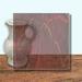 Glass Art Film, Walnut Brown Marble 46 cm x 33 cm