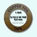 Edco Copper foil  7,94 mm width