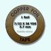 Edco Copper foil  5,56 mm width