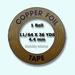 Edco Copper foil  4,36 mm width